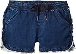 The Lily Ruffle Pull-On Shorts (Big Kids)