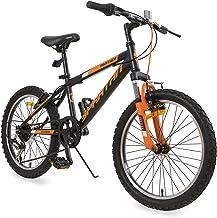 Spartan 20 inch Panther MTB Bicycle - Matte Black