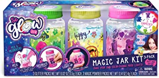 CANAL TOYS 255007 - So Glow DIY Magic Jar Kit (3 Pack), Multicolor