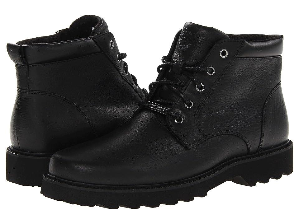 Rockport Northfield Waterproof Boot (Black) Men