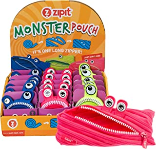 ZIPIT Monster Pencil Case Display, 15 Assorted Units