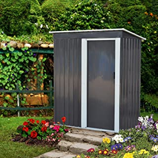 metal garden storage shed
