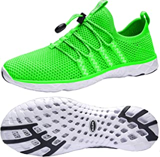 Men's Lightweight Quick Drying Aqua Water Shoes Athletic...