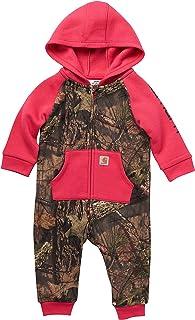 Carhartt baby-girls Knit Long Sleeve Hoodneck Coverall
