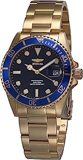 ساعة انفيكتا برو دايفر كوارتز مينا ازرق للسيدات 33276