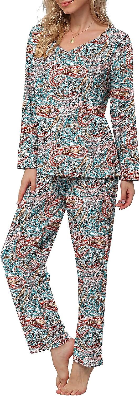 Challenge the lowest price SALENEW very popular! of Japan POKWAI Women's Pajamas Sets Nightwear Sleepwear Long Sleeve