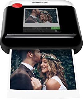 Polaroid WiFi Wireless 3x4 Portable Mobile Photo Printer (White) with LCD Touch Screen, Compatible w/iOS & Android.