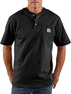Men's Workwear Pocket Henley Shirt (Regular and Big & Tall Sizes)