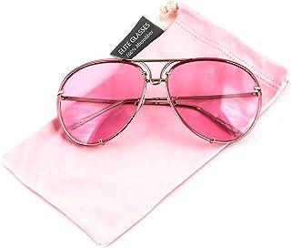 Aviator Poshe Oceanic Lens Twirl Metal Design Frames Sunglasses