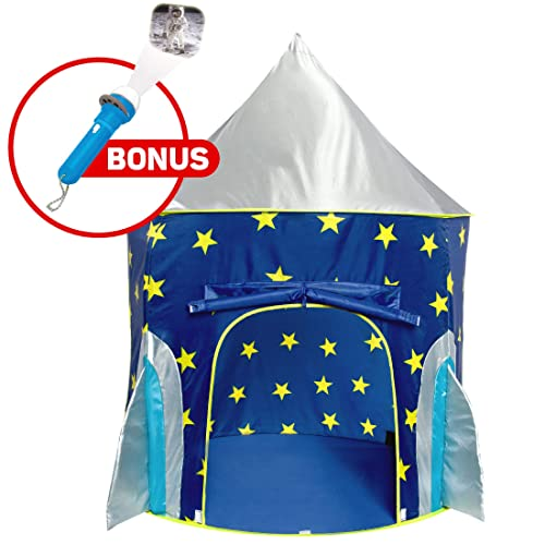 Rocket Ship Play Tent For Boys Astronaut Space Kids