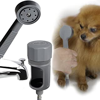 YOO.MEE Pets Shower Attachment, Quick Connect on Tub Spout w/Front Diverter, Ideal for..