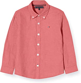 Tommy Hilfiger Boy's Essential Twill Oxford Long Sleeves Shirt