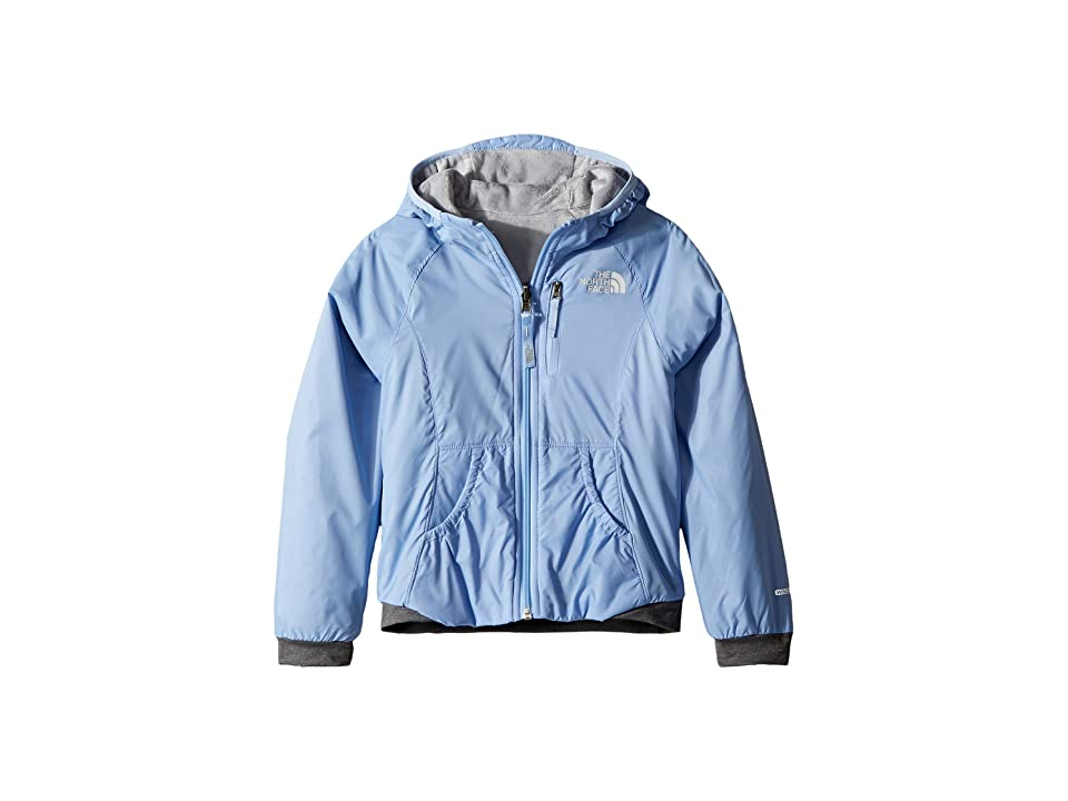 The North Face Kids Reversible Breezeway Wind Jacket (Little Kids/Big Kids) (Collar Blue) Girl