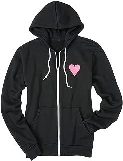 Ladies Subaru Love Team Hooded Hoodie Sweatshirt Official Genuine Pink Heart