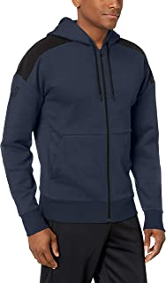 Peak Velocity Mediumweight Fleece Full-Zip Loose-fit Hoodie