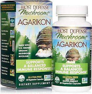 Host Defense, Agarikon Capsules, Full Spectrum of Constituents, Mushroom Supplement, Vegan, Organic, 60 Capsules (60 Servi...