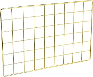 Amazon Basics Wall Wire Grid Panel, Gold