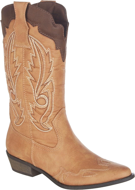 Coconuts Womens Cimmaron Western Boots