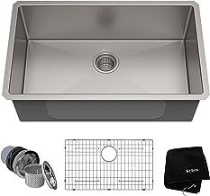 Kraus KHU100-30 Kitchen Sink, 30 Inch, Stainless Steel
