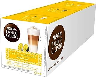 Nescafé Dolce Gusto Latte Macchiato Vanilla, Lot de 3(48capsules)