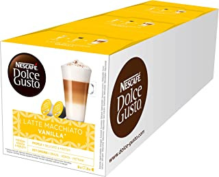 Nescafé 雀巢拿铁玛奇朵胶囊咖啡,3件装  (48个)