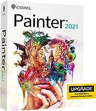 Corel Painter 2021 Upgrade | Digital Painting Software | Illustration, Concept, Photo, and Fine Art [PC/Mac Keycard]