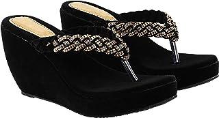 Do Bhai Women Wedges Sandal(Butterfly)