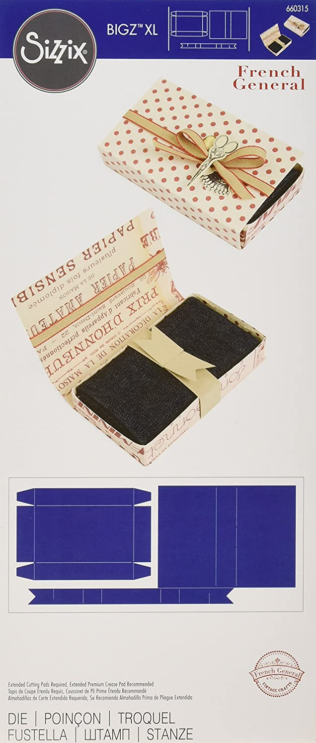 Sizzix Bigz Die Box, Sewing by French General