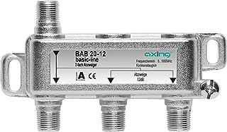Axing BAB 20-18 - Derivador Acoplador direccional de señal TV 18 dB con Conector de F para TDT Radio CATV televisión por C...