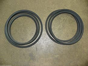 Set of Two (2) Finish Mower Belts for 6' Sovema/LMC Mowers 900.241.341 LMC241341