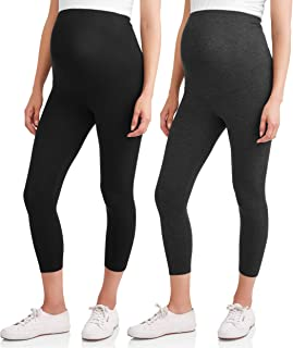 RUMOR HAS IT Maternity Over The Belly Capri Crop Support...