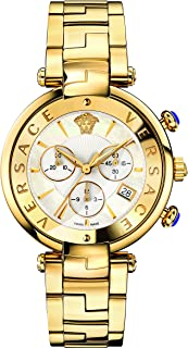 Women's Reve Swiss-Quartz Watch with Stainless-Steel Strap, Gold (Model: VAJ060016)