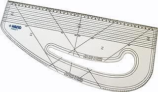 HAND Pattern Marking Ruler- Hard Plastic