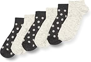 HIKARO Women's Ankle Socks, Pack of 6