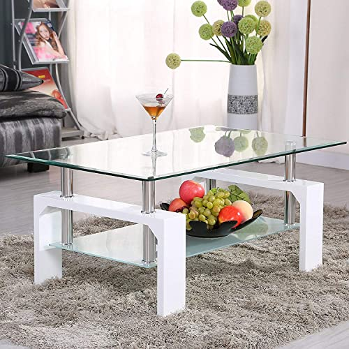 Enjoyable Modern Glass Coffee Tables Amazon Com Best Image Libraries Thycampuscom