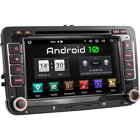 Xomax Xm 10ga Autoradio Mit Android 10 Passend Für Vw Elektronik