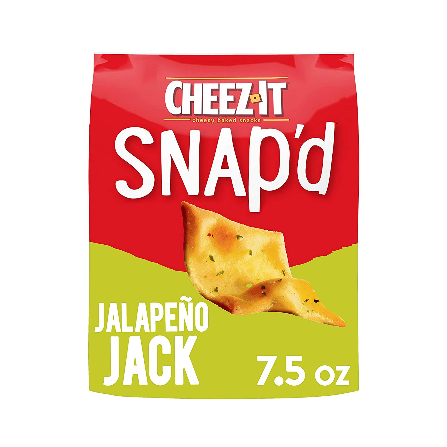 Cheez-It Snap'd Cheesy Baked Snacks Jalapeno Ounce Jack Max 82% OFF 7.5 New York Mall