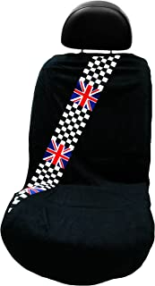 Seat Armour SA100MINCHCK Checkered Flag Seat Protector Towel, 1 Pack