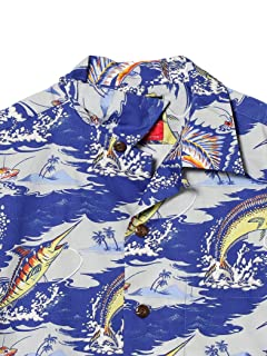 Aloha Shirt 11-01-1109-304: Navy