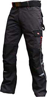 Lee Cooper Workwear LCPNT236 Mens Multi Pocket Cargo Work Safety Pants Trousers