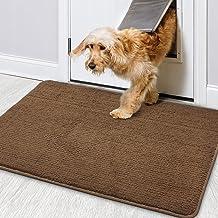 """Color&Geometry Indoor Doormat 36""""x59"""" Non Slip Backing Machine Washable Super Absorbent Inside Mats, Low-Profile Rug Doorm..."""