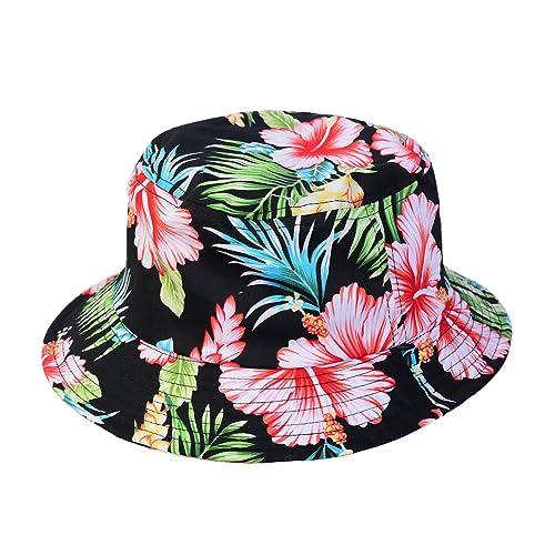 685a5ea3045 1611MAIN The Hawaiian Floral Cotton Bucket Hat