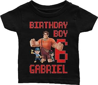 Personalize Wreck it Ralph Birthday Shirt