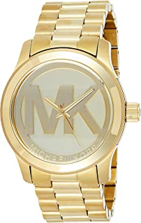 Michael Kors Runway Watch for Women - Analog Stainless Steel Band - MK5473
