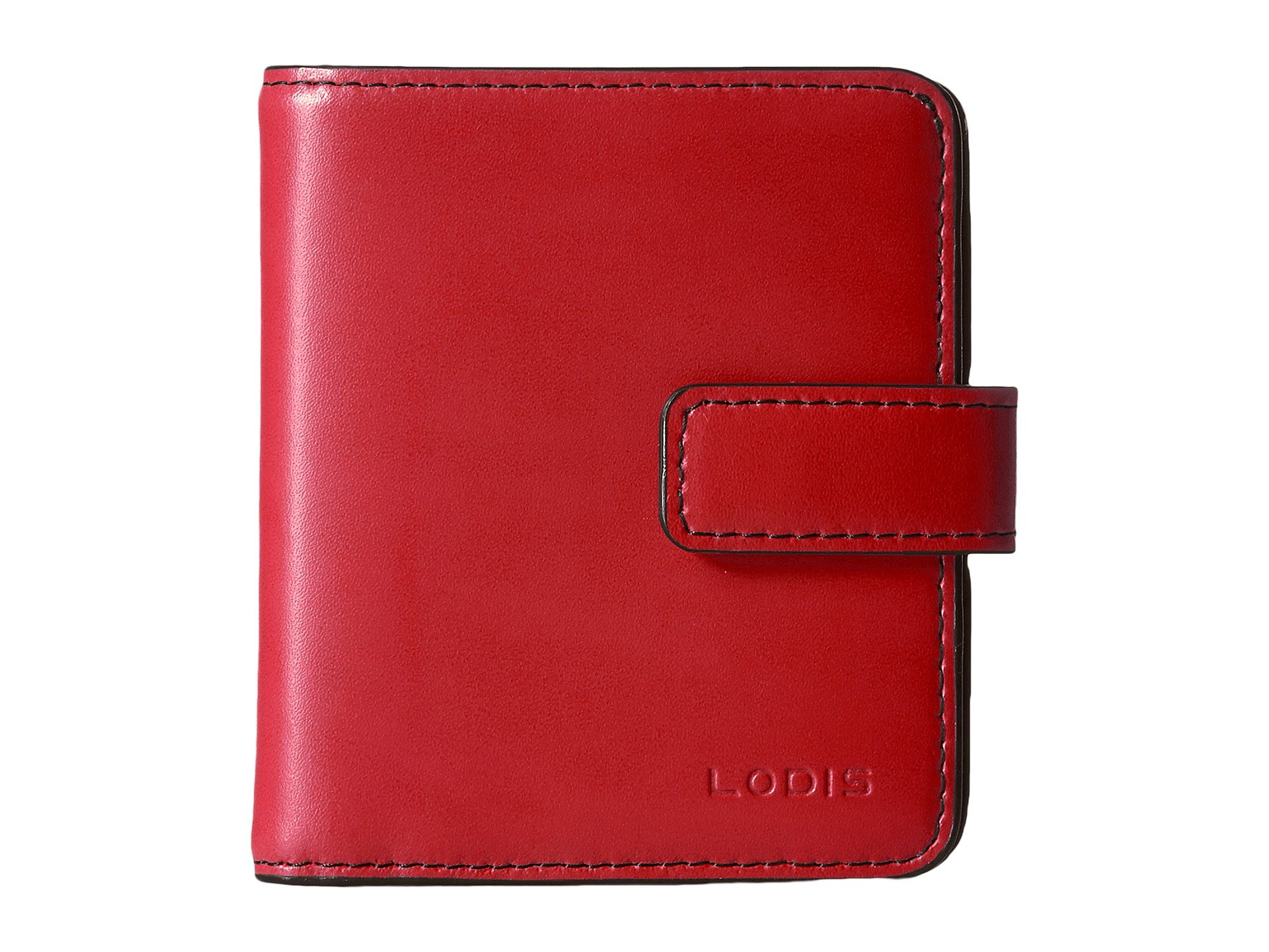 Accessories Card Case Audrey Lodis Wallet Rfid Red Petite 8xqHHSwdv