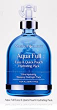Masqueology - Aqua Full Easy and Quick Pouch Hydrating Mask | Sleeping Overnight Pack - Nourishes and Hydrates (12 Pack)