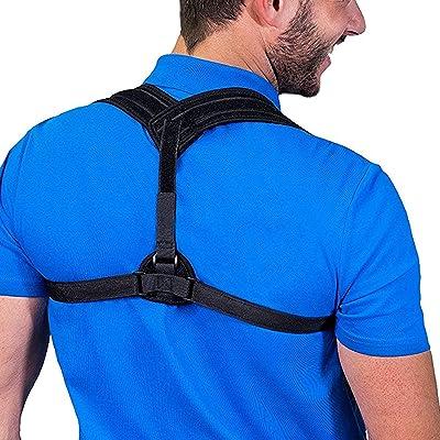 exmight Posture Corrector for Men Comfortable U...