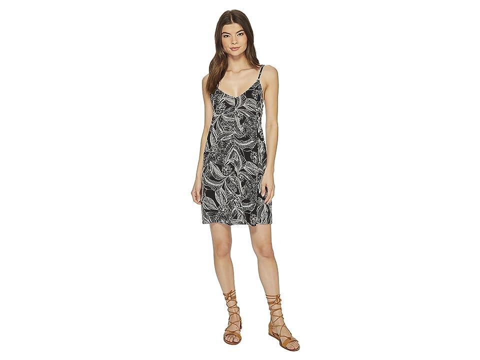 Roxy Swing Dress (Anthracite/Origin of Light) Women