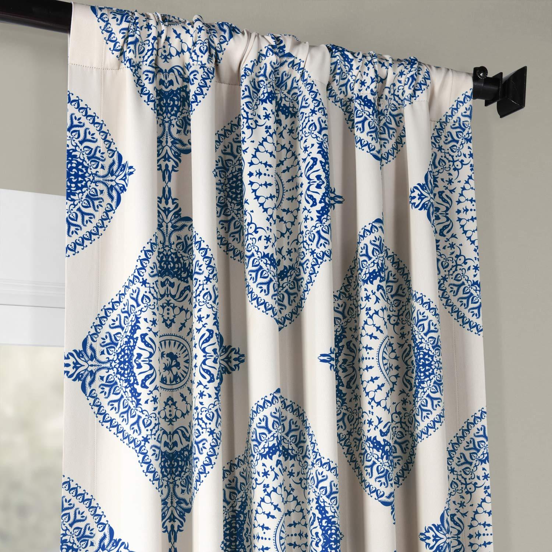 HPD Half Price Drapes BOCH-KC27-108 Blackout Curtain 50 x 108 Henna EFF