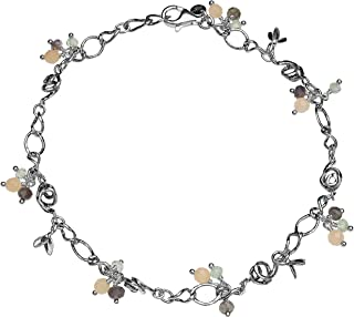 Best sterling silver gemstone charms Reviews